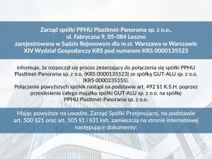Plastime_połączenie_spółek